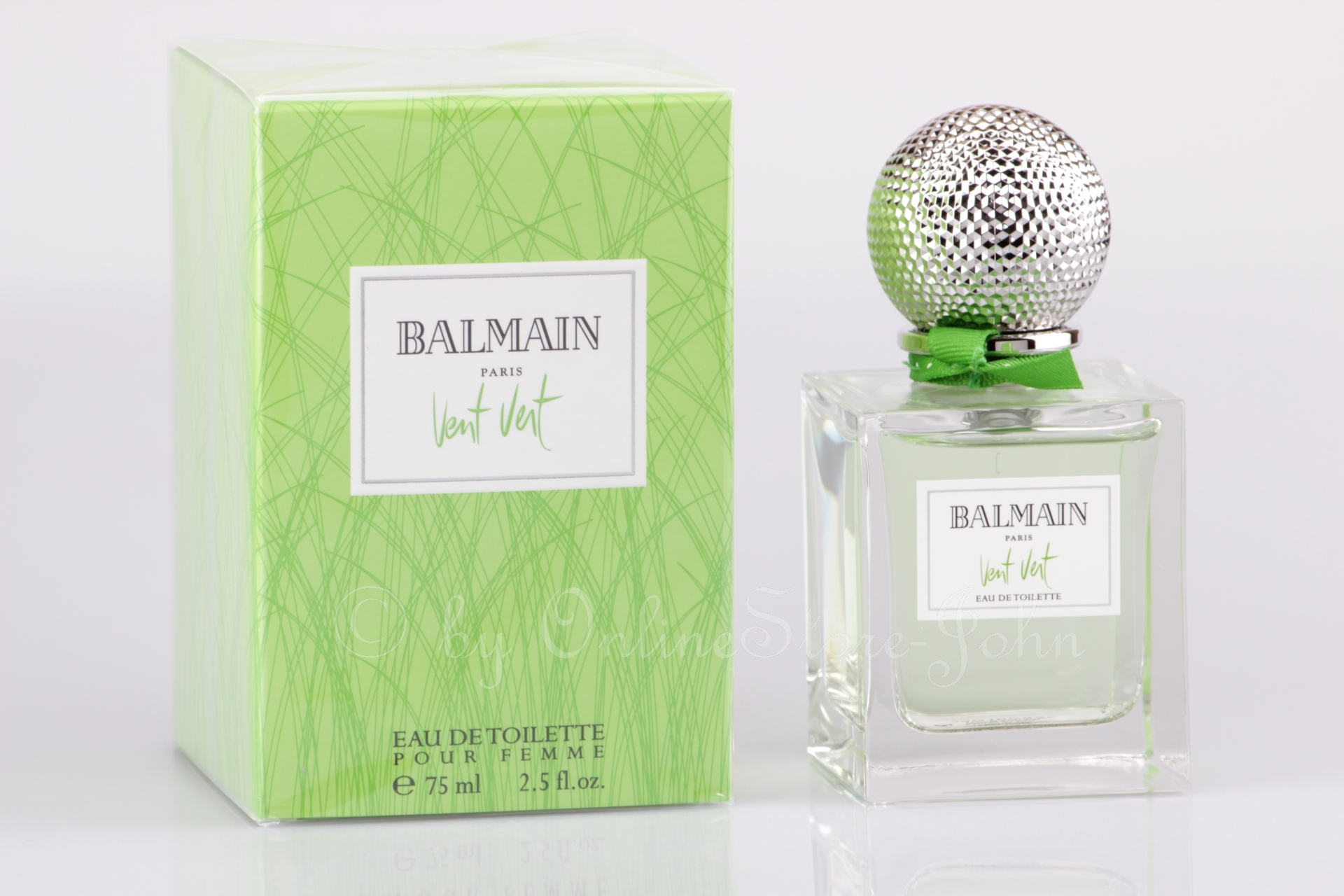 balmain vent vert pour femme 75 ml edt eau de toilette nip 689853765443 ebay. Black Bedroom Furniture Sets. Home Design Ideas
