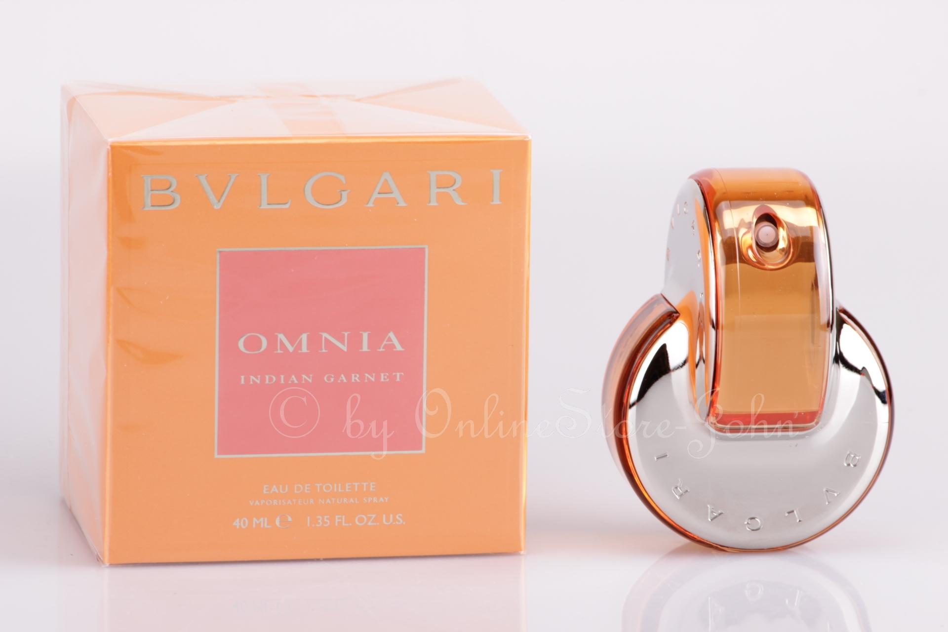 Details zu Bvlgari Omnia Indian Garnet 40ml EDT Eau de Toilette
