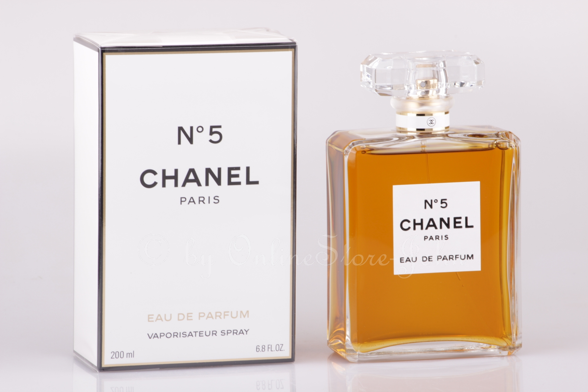 chanel n 5 200ml eau de parfum eau de parfum neuf. Black Bedroom Furniture Sets. Home Design Ideas