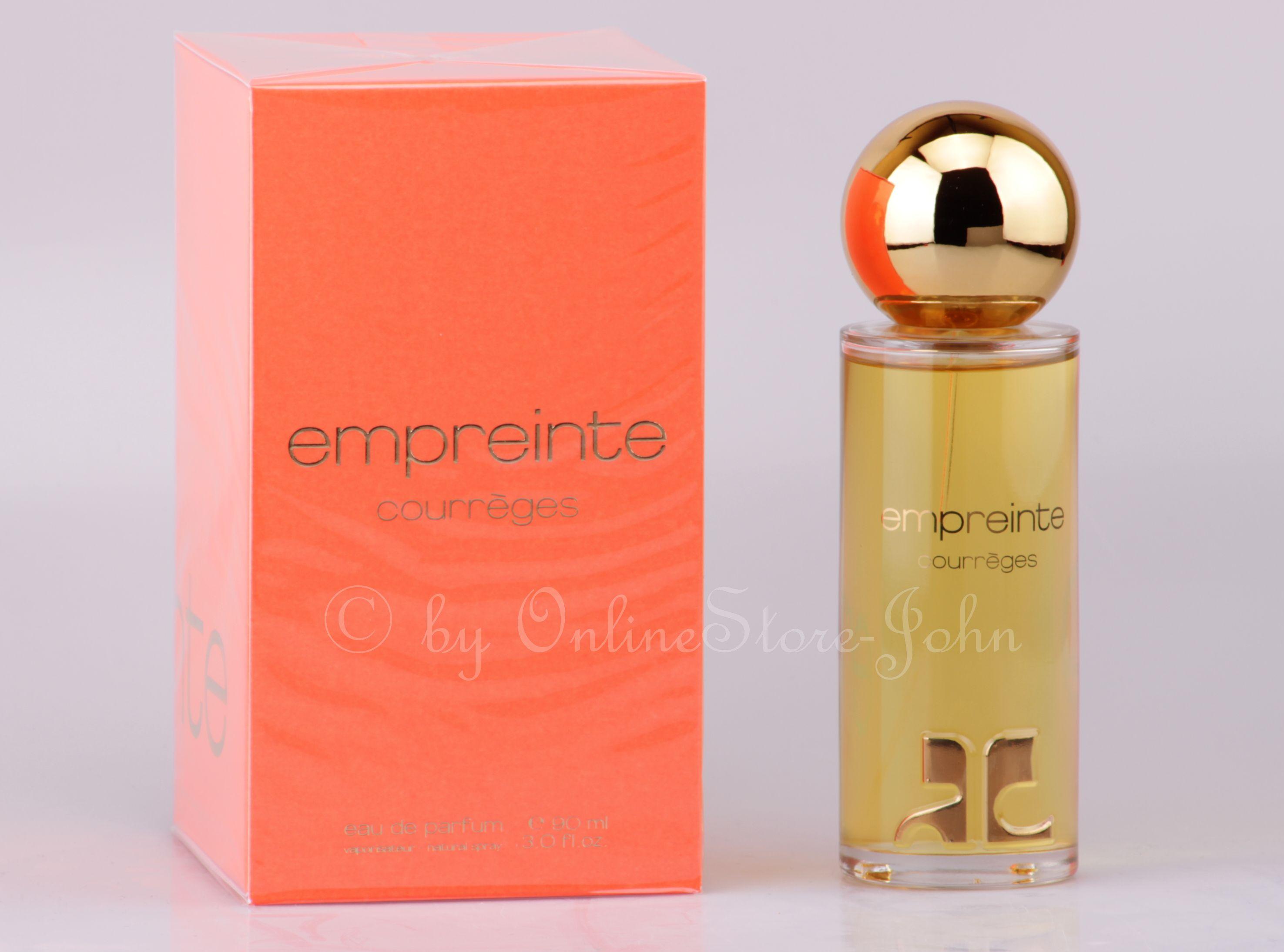 courreges empreinte 90ml edp eau de parfum nip 3442180000048 ebay. Black Bedroom Furniture Sets. Home Design Ideas