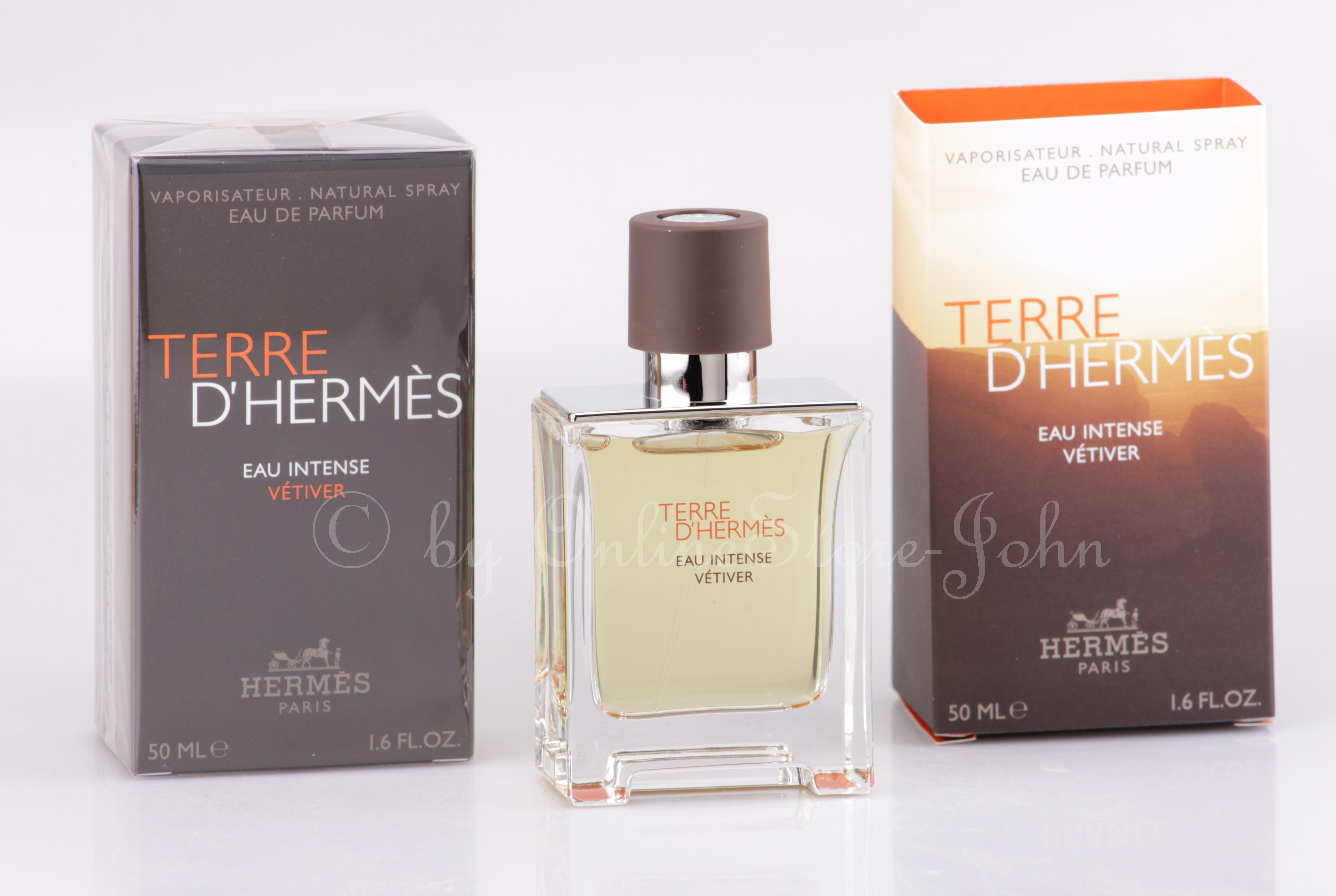 Details zu Hermes TERRE d'Hermes Eau Intense Vetiver 50ml EDP Eau de Parfum