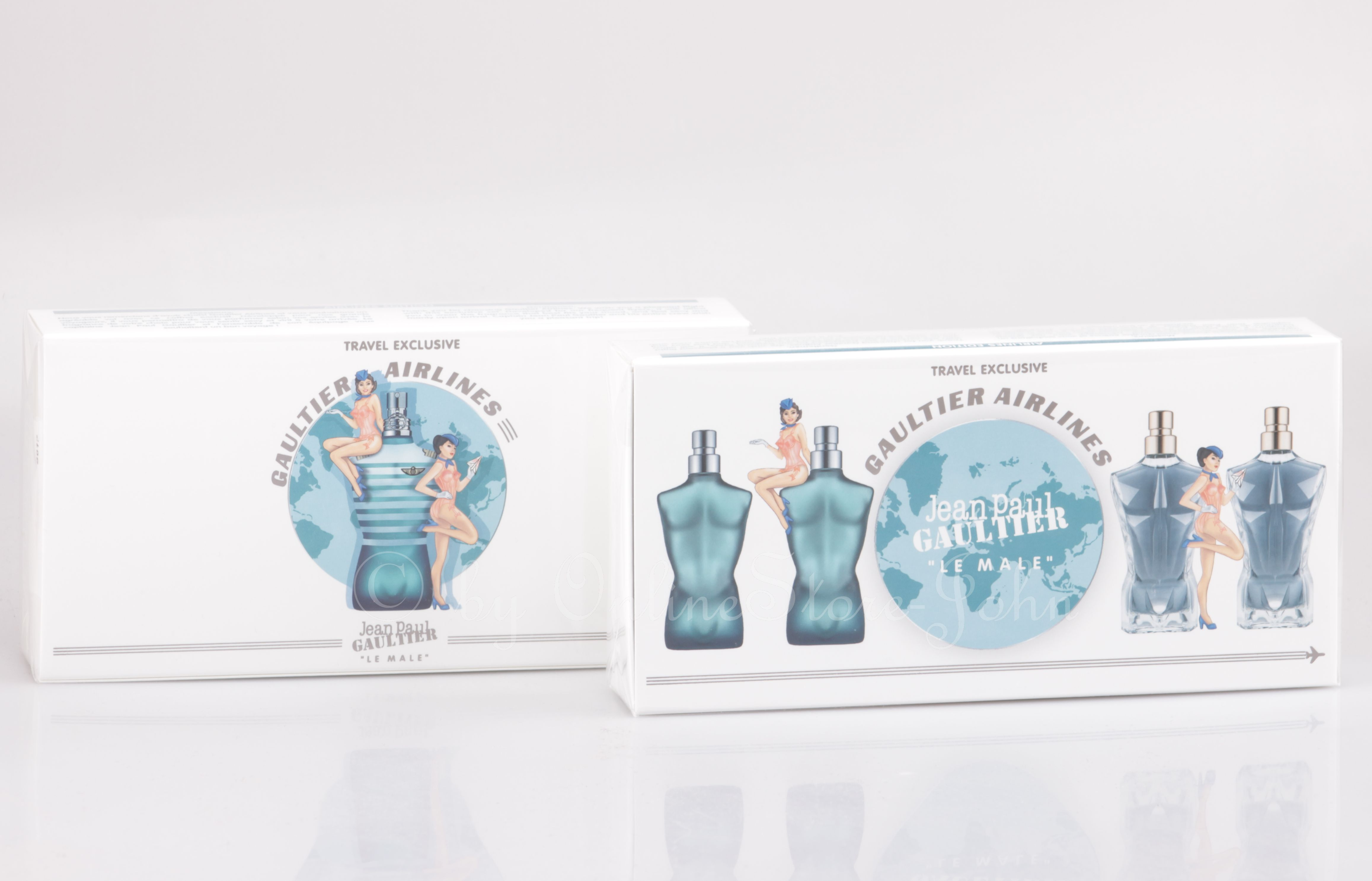 Jean Paul Gaultier - Le Male Airlines - 2 x 7ml EDT + 2 x 7ml EDP ...