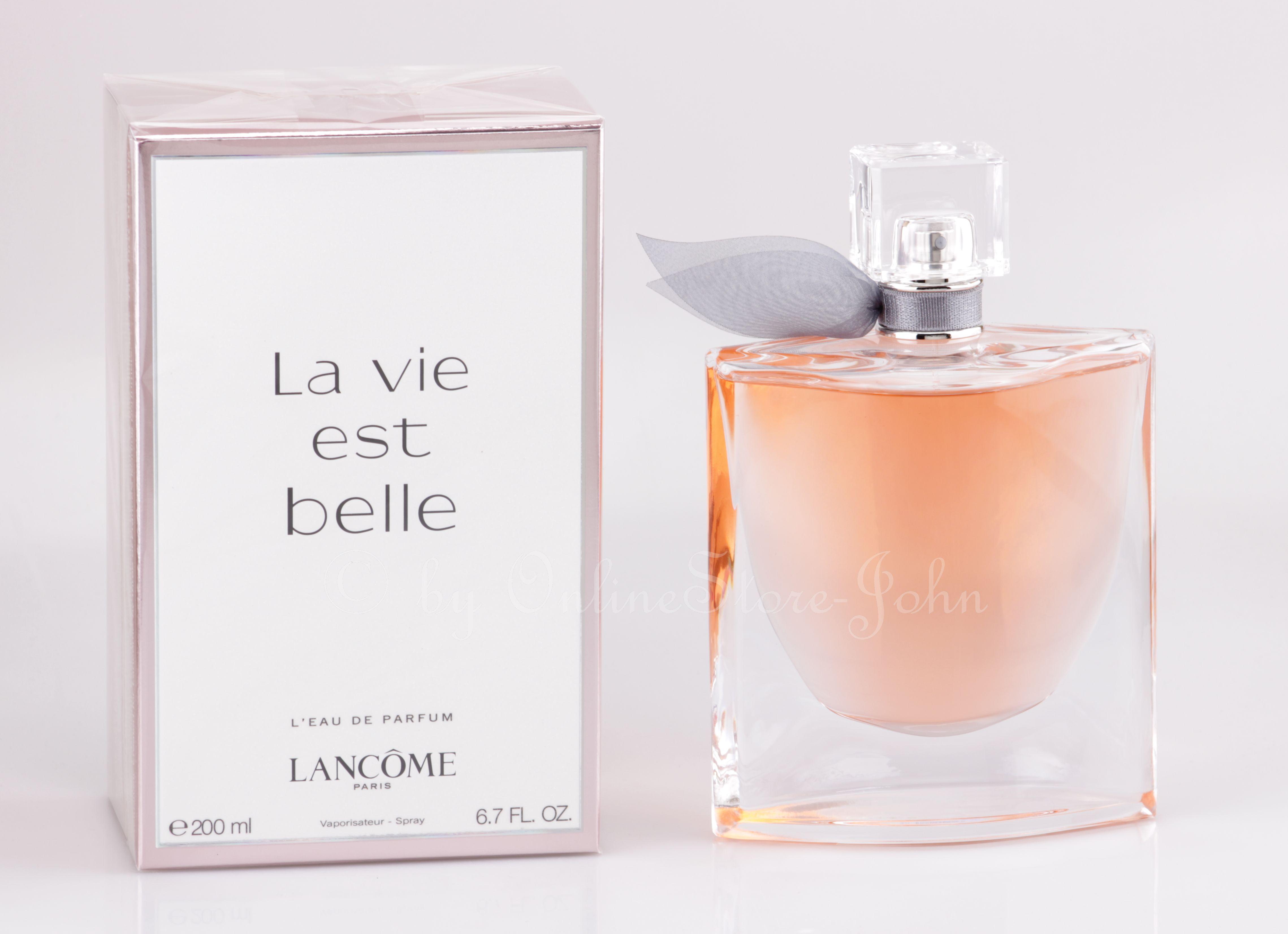 lancome la vie est belle 200ml edp eau de parfum ebay