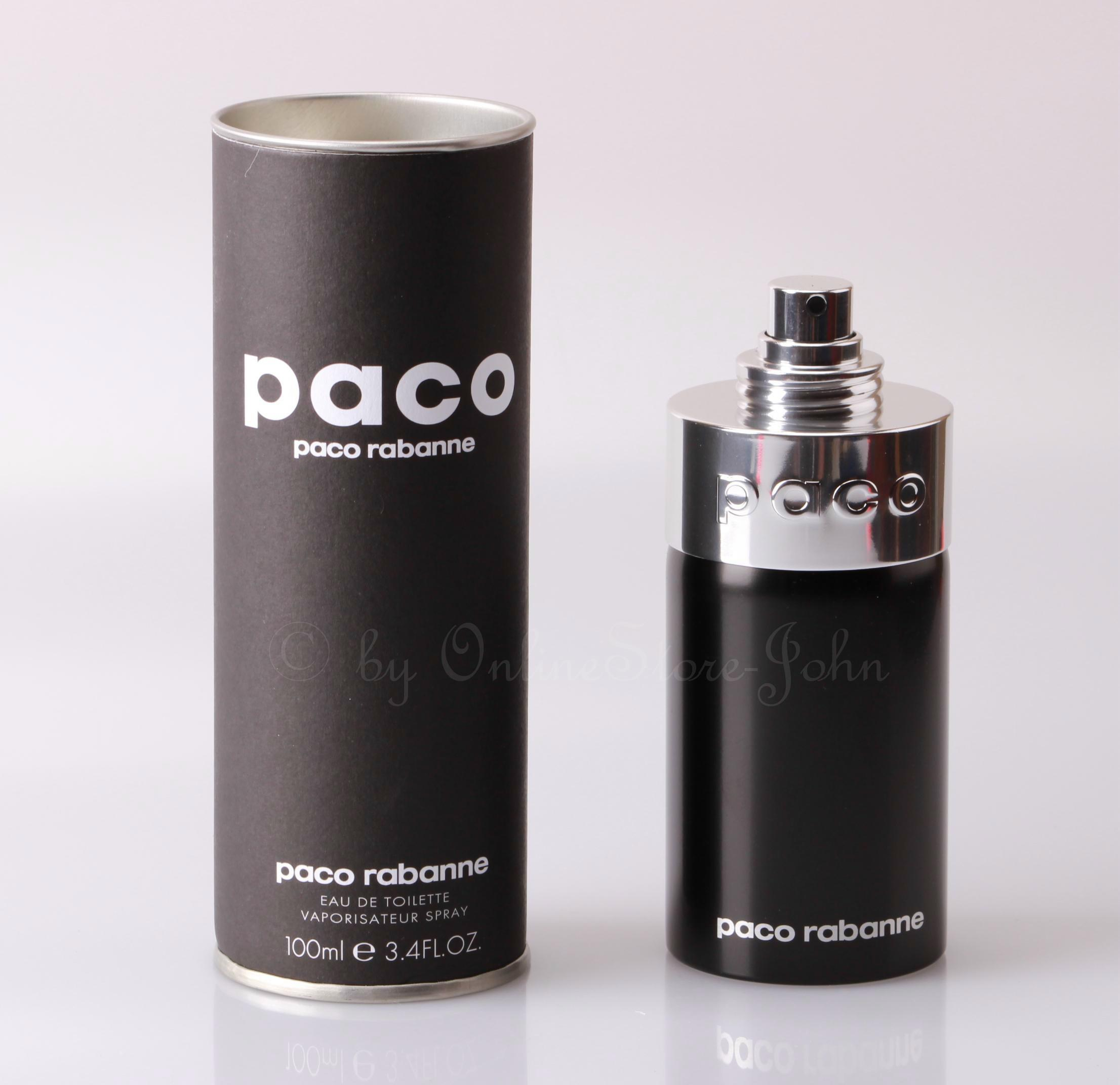 Paco rabanne paco by p r 100ml edt eau de toilette nuovo for Paco by paco rabanne