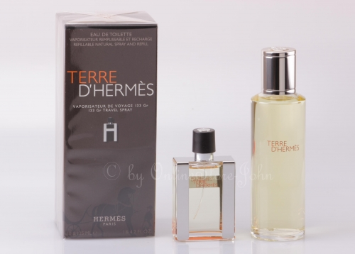Hermes - TERRE Set - 30ml EDT + 125ml EDT Refill