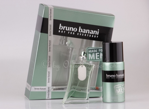 Bruno Banani - Made for Men - 75ml EDT + 150ml Deospray