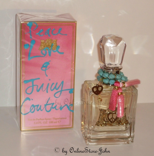 Juicy Couture - Peace, Love & Juicy - 100ml EDP Eau de Parfum