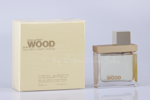 Dsquared² - She Wood Golden Light - 50ml EDP Eau de Parfum