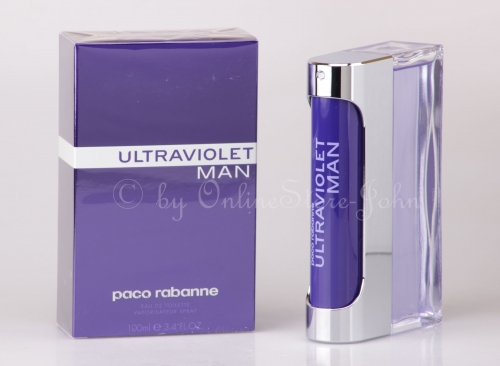 Paco Rabanne - Ultraviolet Man - 100ml EDT Eau de Toilette