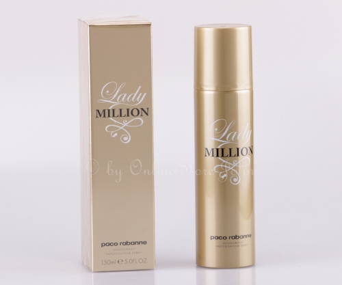 Paco Rabanne - Lady Million - 150ml Deo Spray - Deodorant Vapo