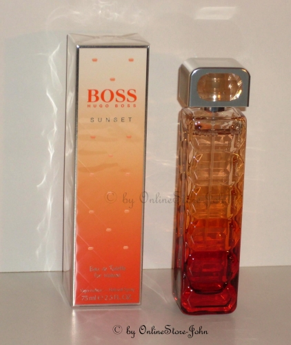 Hugo Boss - Orange Sunset - 75ml EDT Eau de Toilette