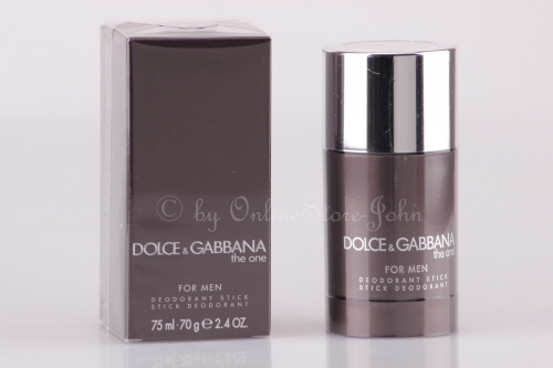 Dolce & Gabbana - The One for Men - 75ml Deo Stick - Deodorant