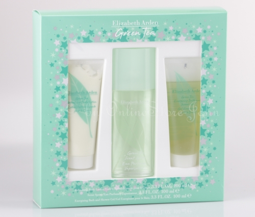 Elizabeth Arden - Green Tea Set - 100ml EDP + 100ml BL + 100ml DG