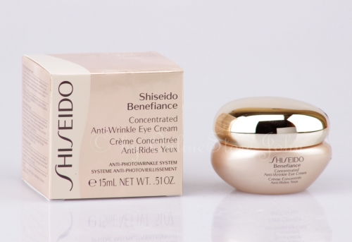 SHISEIDO - Benefiance Concentrated Anti-Wrinkle Eye Cream 15ml
