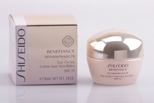 SHISEIDO - Benefiance WrinkleResist24 Day Cream SPF 15 50ml