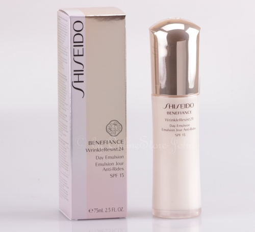 SHISEIDO - Benefiance WrinkleResist24 Day Emulsion SPF 15 75ml