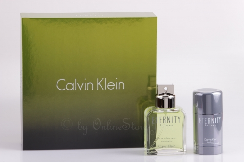 Calvin Klein - Eternity for Men Set - 100ml EDT + 75ml Deo Stick