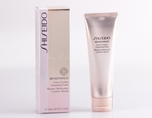 SHISEIDO - Benefiance Extra Creamy Cleansing Foam 125ml