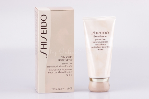 SHISEIDO - Benefiance Protective Hand Revitalizer Cream SPF 8 75ml