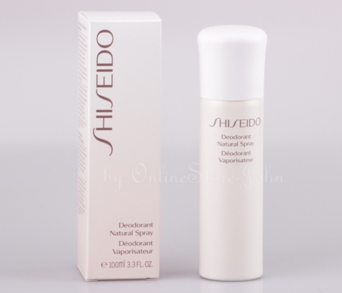 Shiseido - Deodorant Natural Spray 100ml - Vaporisateur