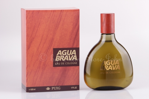 Antonio Puig - Agua Brava - 500ml EDC Eau de Cologne Splash-Bottle