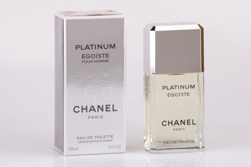 Chanel - Egoiste Platinum - 100ml EDT Eau de Toilette