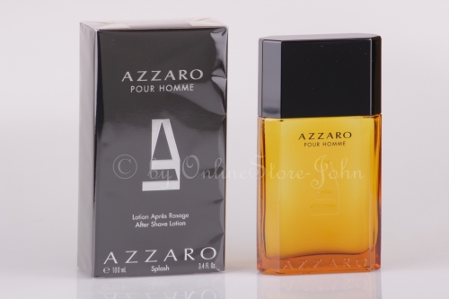 Azzaro - pour Homme - 100ml After Shave Lotion - Splash Bottle