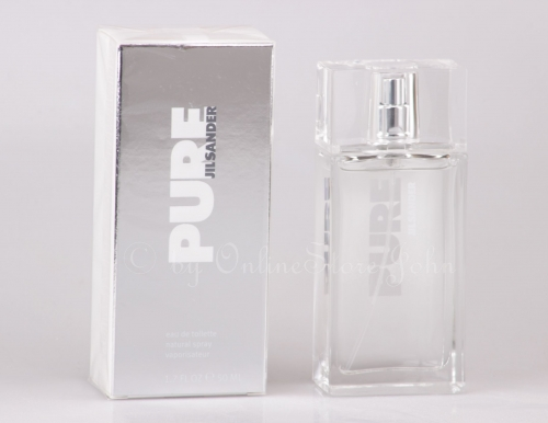 Jil Sander - Pure for Woman - 50ml EDT Eau de Toilette