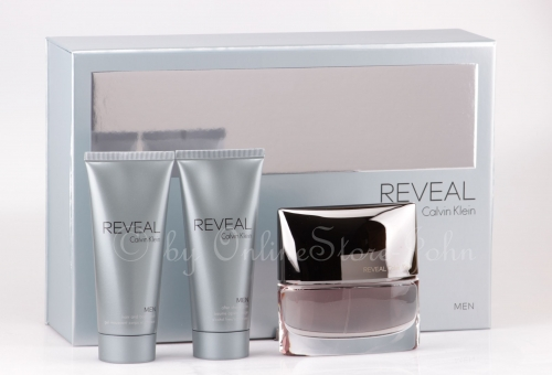 Calvin Klein - CK Reveal Men Set - 100ml EDT + 100ml ASB + 100ml SG