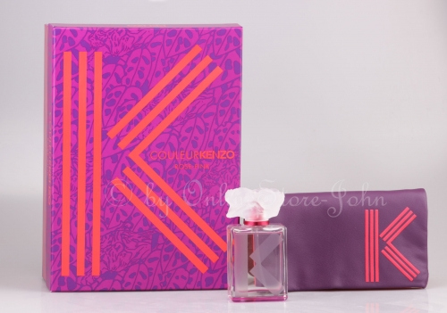 Kenzo - Couleur Rose-Pink Set - 50ml EDP + Pouch