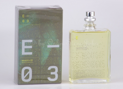 Escentric Molecules - Escentric 03 - 100ml EDT Eau de Toilette