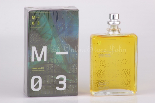 Escentric Molecules - Molecule 03 - 100ml EDT Eau de Toilette