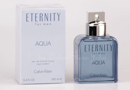 Calvin Klein - CK Eternity for Men Aqua - 100ml EDT Eau de Toilette