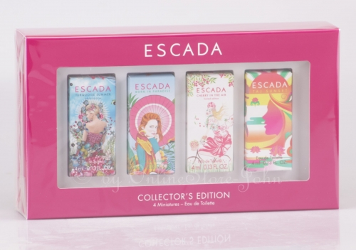 Escada - Collectors Edition - 4 x 4ml Miniaturen - Eau de Toilette