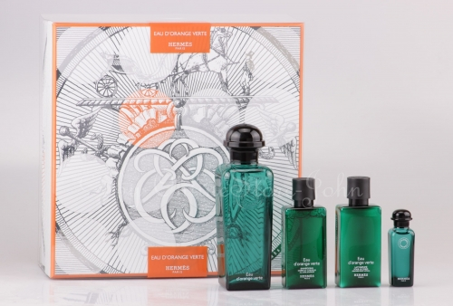 Hermes - Eau d'Orange Verte Set - 100ml + 7,5ml EDC + 40ml BL + 40ml SG