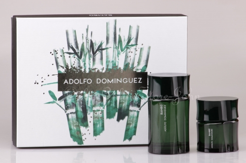 Adolfo Dominguez - Bambu Hombre Set - 120ml EDT + 60ml EDT