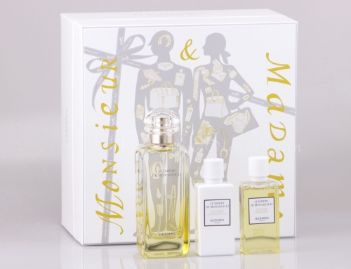 Hermes - Le Jardin de Monsieur Li Set - 100ml EDT + 40ml Bodylotion + Showergel