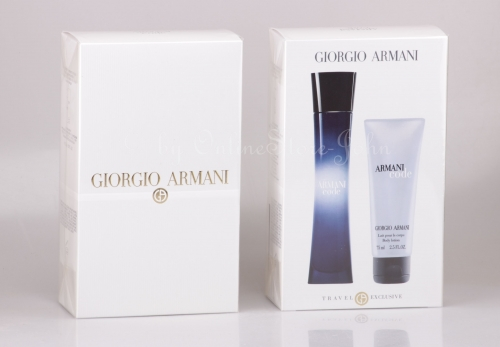 Giorgio Armani - Code Femme Travel Set - 75ml EDP + 75ml Bodylotion