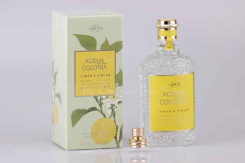 4711 - Acqua Colonia - Lemon & Ginger - 170ml EDC Eau de Cologne