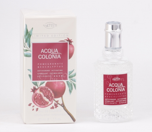 4711 - Acqua Colonia - Pomegrante & Eucalyptus - 50ml EDC Eau de Cologne