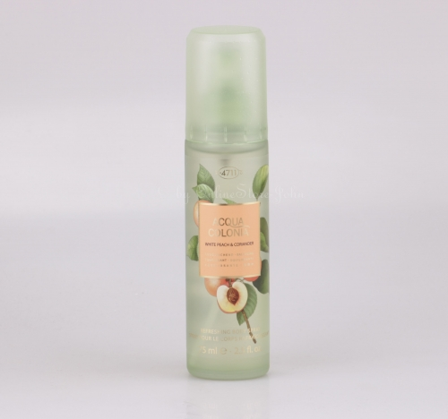 4711 - Acqua Colonia - White Peach & Coriander - 75ml Refreshing Body Spray