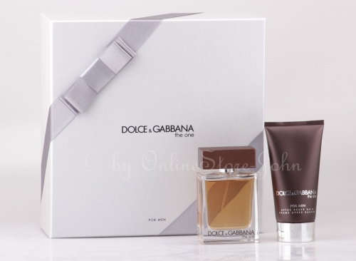 Dolce & Gabbana - The One for Men Set - 50ml EDT + 75ml After Shave Balsam