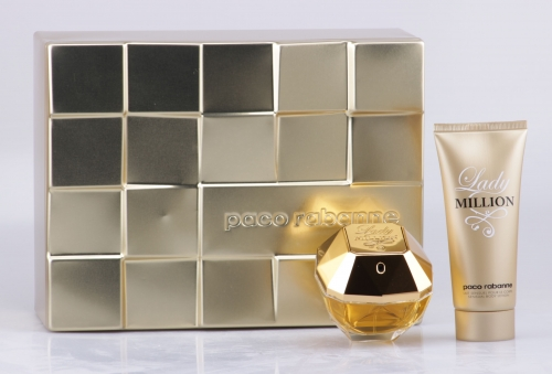 Paco Rabanne - Lady Million Geschenk-Set - 80ml EDP + 100ml Bodylotion