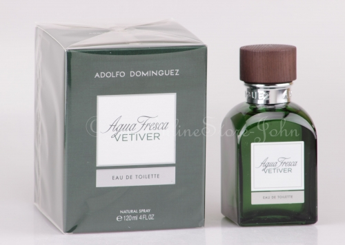 Adolfo Dominguez - Agua Fresca Vetiver - 120ml EDT Eau de Toilette