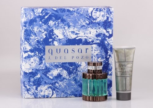 Jesus del Pozo - Quasar Set - 125ml EDT + 100ml After Shave Balm - B-Ware