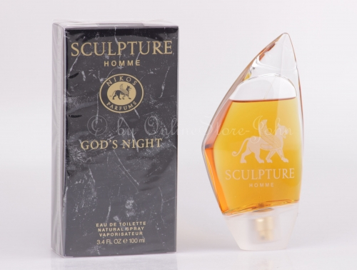 Nikos - Sculpture God's Night - 100ml EDT Eau de Toilette