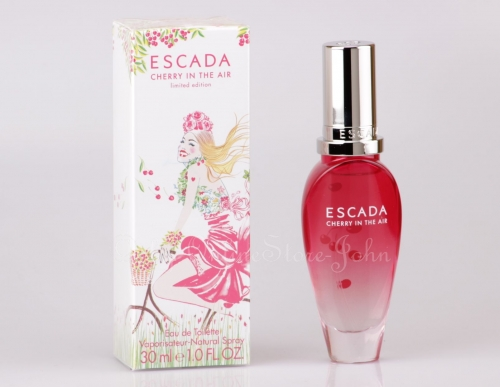 !! B-WARE !! Escada - Cherry in the Air - 30ml EDT Eau de Toilette