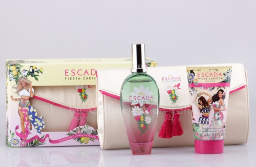 Escada - Fiesta Carioca Set - 100ml EDT + 150ml Bodylotion + Clutch Bag