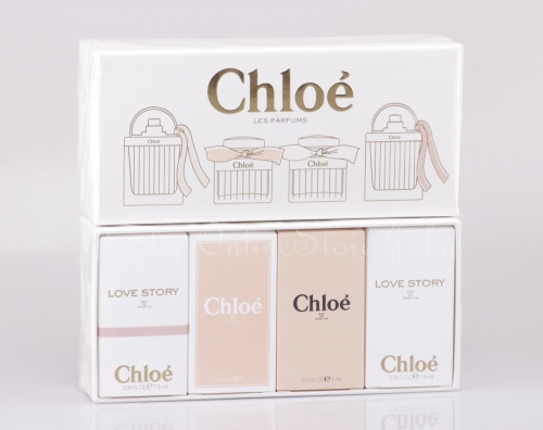 Chloe - Miniature EDP + EDT Set - 2 x 7,5ml Love Story + 2 x 5ml Signature