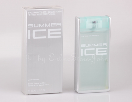 Porsche Design - The Essence Summer Ice - 80ml EDT Eau de Toilette